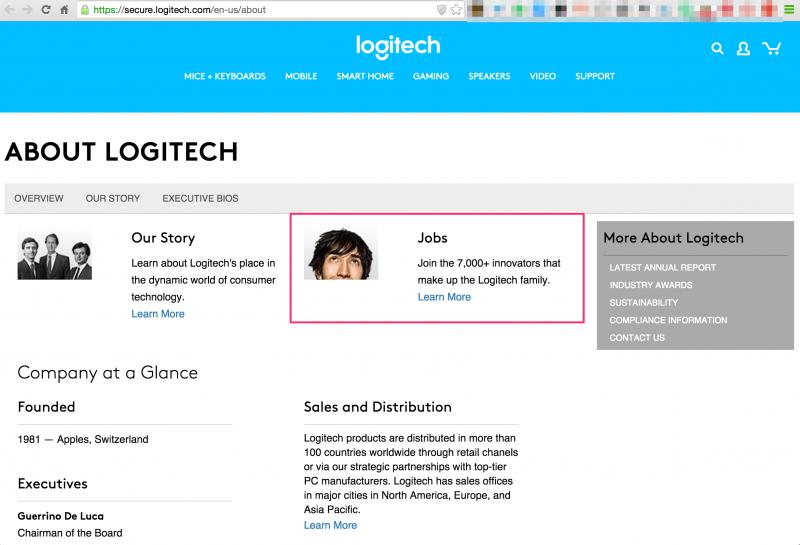 About Logitech