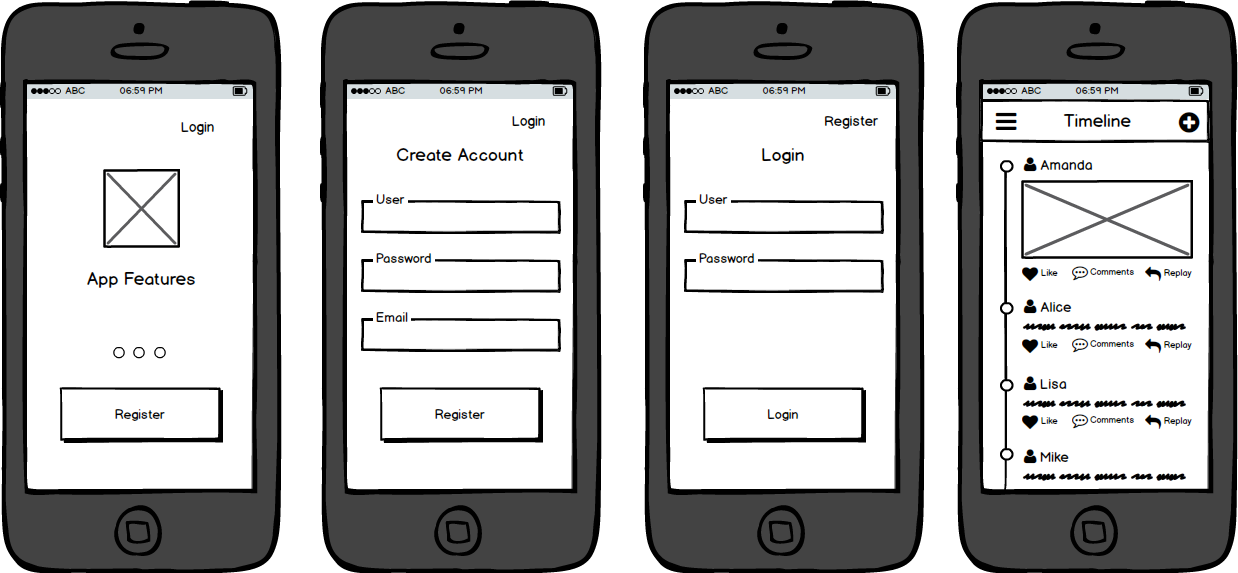 mobile-wireframes