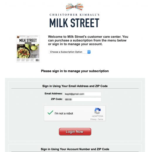 milk street third party vendor